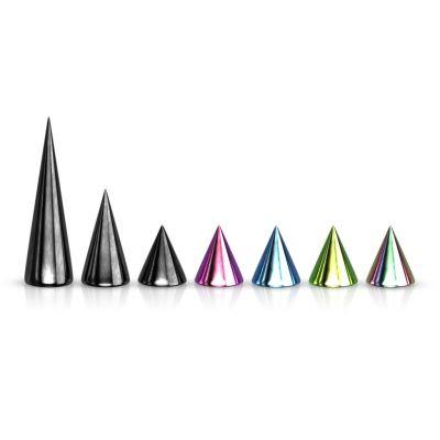 Lose Spikes in verschiedenen Farben und Größen